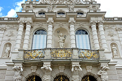 Linderhof Palace (Colorado Sands) Tags: façade exterior sandraleidholdt ettal germany german bavaria palace linderhofpalace ludwigii kingludwigii schlosslinderhof schloss architecture residence statues facade balcony europe baroque