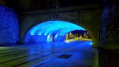 Montpellier by night (srouve78) Tags: montpellier night nuit bleue
