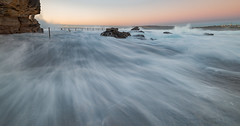High tide and big swell (nixpix651) Tags: waves sunrise rockpool beach northcurlcurl sydney newsouthwales australia
