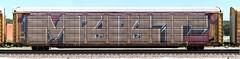 Myst (quiet-silence) Tags: graffiti graff freight fr8 train railroad railcar art myst pos ant allnation wholecar roller autorack ettx711489 bnsf