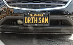 DSCN1387 TAG  DRTH SAM (Look.) Tags: tag tags plate plates licenseplate vanityplates personalizedplates licenseplates