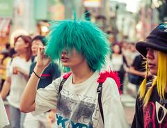 Tokyo Green (Stuck in Customs) Tags: japan stuckincustomscom tokyo treyratcliff hdr street portrait hdrphotography hdrtutorial tshirt
