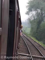 Leaving Hampton Loade towards Highley (Faversham 2009) Tags: ann hamptonloade svr severnvalleyrailway steam heritage train trains locomotive loco railway shropshire