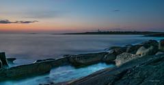 Stones of Alnes (strandroger) Tags: sunset alnes summer stones seascape sea lighthost