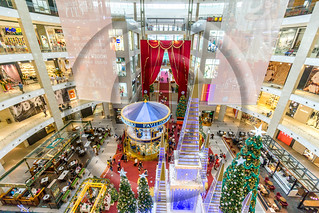 Shopping mall interior design