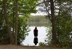Knee Deep (CRWoodward0) Tags: pine barrens lake atsion