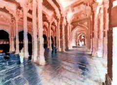 India - Uttar Pradesh - Fathepur Sikri - Jama Masjid - 53bb (asienman) Tags: india uttarpradesh fathepursikri jamamasjid asienmanphotography asienmanphotoart