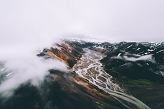 Dead Mans Pool (Airpixelsmedia) Tags: landscape iceland landmannalaugar mountains mountaing flickr natgeo adventure explore aerial drone glacial river