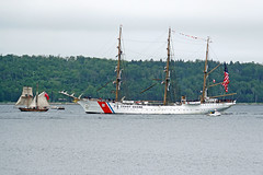 DSC07996 - St. Lawrence II & USCGC Eagle (archer10 (Dennis) 101M Views) Tags: sony a6300 ilce6300 18200mm 1650mm mirrorless free freepicture archer10 dennis jarvis dennisgjarvis dennisjarvis iamcanadian novascotia canada fergusonscove halifaxharbour rendezvous2017tallshipsregatta tallships uscgceagle stlawrenceii