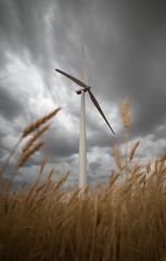 Turbine (Lightcrafter Artistry) Tags: wind prairie dakota rural farming wheat windmill energy turbine nd2017contest scenery