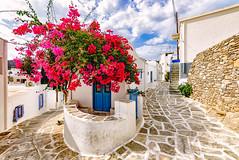 Lefkes, Paros (Kevin R Thornton) Tags: d90 nikon travel street architecture greece city mediterranean lefkes paros egeo gr