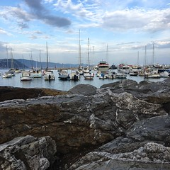 Harbour Santa Margherita Ligure in the evening (kim.barrett723) Tags: sml santa margherita ligure evening harbour
