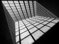 (Magdalena Roeseler) Tags: geometry lines bw blackandwhite monochrome street architecture architektur building light olympus zuiko woman female