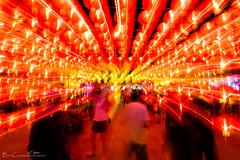 Enlightened (Billy Clapham) Tags: chiang mai chiangmai china chineselanterns icm blur longexposure night lights red yellow urban people asia thailand travel travelphotography nikond7100 billyclapham
