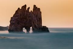 Playa de Portizuelo II (bienve958) Tags: playadeportizuelo luarca principadodeasturias españa es beach rocks cliffs landscape seascape paisaje nd haida nd1000 densidadneutra polarizador longexposure largaexposición