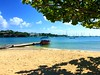 "Caribbean Beach (Heaven`s Gate (John)) Tags: lanceauxepinesbeach lance aux epines beach calabash resort grenada caribbean sea boat sand sunshine blue sky vacation holiday idyll johndalkin heavensgatejohn tree shadows summer ""flickrtravelaward"""