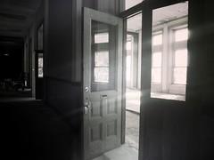 Letting the Light In-Explored 7.17.17 (Jayne Reed) Tags: doors windows naturallight monochrome blackandwhite