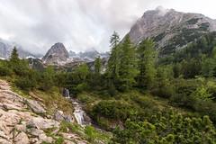Am Seebensee-4623 (Holger Losekann) Tags: austria landscape landschaft seebensee tirol tyrol österreich vordererdrachenkopf wasserfall waterfall wasser water berge mountains wetterstein ehrwald at