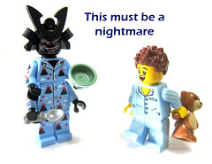 This must be a nightmare (WhiteFang (Eurobricks)) Tags: lego collectable minifigures series city town space castle medieval ancient god myth minifig distribution ninja history cmfs sports hobby medical animal pet occupation costume pirates maiden batman licensed dance disco service food hospital child children knights battle farm hero paris sparta historic ninjago movie sensei japan japanese cartoon 20 blockbuster cinema