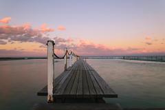 Narrabeen (tonyg1494) Tags: nikon longexposure rockpool sydney australia sunset sky ocean water photography
