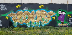 Coma... (colourourcity) Tags: graffiti writers graffitiwriters burner burners bunsen letters awesome colourourcity melbourne melbournegraffiti burncity streetart streetartaustralia streetartnow coma tbs theblacksheep