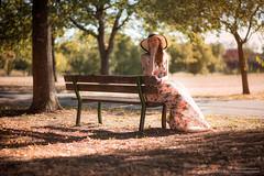 Thinking of you (antoniopedroni photo) Tags: sonya7ii nikon85mm portrait ritratto bench panchina bosco wood noceto zanfurlina