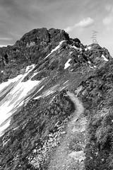 Allgäuer Alpen (photo-aquila) Tags: photoaquila alps alpen mountain hill berg summit mountaintop gipfel hiking bergwandern germany deutschland bavaria bayern oberstdorf blackandwhite bnw schwarzweiss blackandwhitephotography schwarzweissfotografie bnwpictures schwarzweissbilder passionforbnw