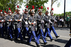 Regiment of the Infantry of the French Republican Guards - Bastille Day, Paris 2017 (Monceau) Tags: juilletquatorze bastilleday regiment infantry frenchrepublicanguards marching