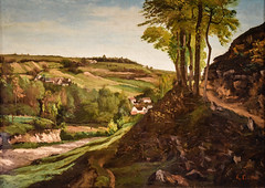 Gustave Courbet - The Valley of Ornans, 1858 at Saint Louis Art Museum - St Louis MO (mbell1975) Tags: stlouis missouri unitedstates us gustave courbet the valley ornans 1858 saint louis art museum st mo saintlouis stl slam museo musée musee muzeum museu musum müze museet finearts fine arts gallery gallerie beauxarts beaux galleria painting landscape paysage french impression impressionist impressionism