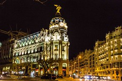 Madrid by night (Bouhsina Photography) Tags: madrid espagne lumière 2017 bouhsina bouhsinaphotography rue street canon gran via wow