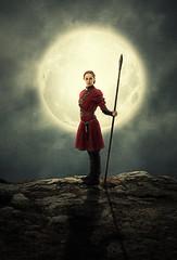 nữ chiến binh (thanhbìnhđỗ) Tags: manip manipulation warrior woman moon