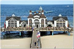 © • Sellin / Insel Rügen • (M.A.K.photo) Tags: sellin seebrücke pier islandofrügen inselrügen balticsea ostsee mecklenburgvorpommern germany deutschland strand meer beach sellinpier nikon