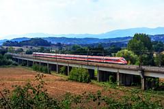 Frecciarossa 1000 in transito! (ice91prinzeugen) Tags: trenitalia fs ferrovie dello stato italiane etr 400 frecciarossa 1000 direttissima