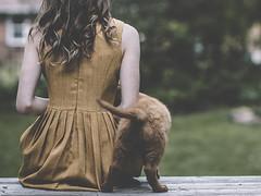(heather ~) Tags: puppy girl summer retriever