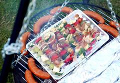 Tasty Food (roomman) Tags: 2017 poland tlen birthday party celebration michalina garden house home beautiful sto lat stolat sausage grill food nice tatsy