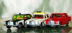 Oh Lord, won't you buy me THREE Mercedes Benz (G_E_R_D) Tags: macromondays three mercedesbenz mercedes benz daimler siku v309 250 lüdenscheid germany