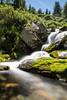 Small creek in Gressoney Saint Jean
