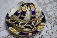 Time for Tea (alison's daily photo) Tags: flickrfriday tea cups saucers plates 117picturesin2017 22 teathings abitoforder