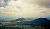 Windward Oahu (jcc55883) Tags: oahu hawaii pali nuuanupali nuuanu nuuanupalistatewayside palihighway windwardcoast film oldfilm filmphotography 35mmfilm 35mm canon canon35mm clouds sky ocean