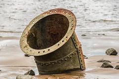 Low tide (michael_hamburg69) Tags: hetlingerschanze hetlingen elbe schleswigholstein germany deutschland rohr metall metal rusty rostig rost