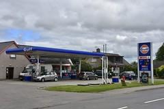 Gulf, Beauly Scottish Highlands. (EYBusman) Tags: gulf petrol gas gasoline filling service station garage beauly scottish highlands certas spar shell eybusman