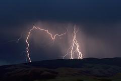 Nature's fireworks (Moffat Road) Tags: lightning night ridge sixteenmilecanyon lombard montana mt