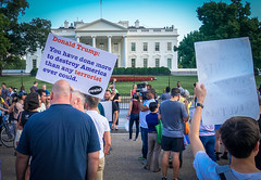 2017.07.26 Protest Trans Military Ban, White House, Washington DC USA 7617