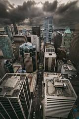 Vancouver BC - Exchange Tower (45) (doublevision_photography) Tags: vancouver vancouvercity vancouverrealestate vancouverbc vancouverskyline vancity vancouvercanada jasocrane constructioncrane vancouverconstruction roofing vancouverroofing contruction towercranephotography flyingtables tableflying