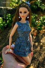 Kitty (Lapochka_G) Tags: dolls doll dollphotos dolloutfits dollclothes dolldresses dressfordoll dressforpoppy dressforbarbie barbie barbielook barbielookhipster barbiecitychic barbielookcitychic