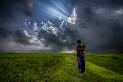 If LIGHT is in your heart, you will find your way home (shah_jaman) Tags: outdoor landscapes cloudysky chilhood child color bangladesh beautifulbangladesh beautyofnature naturephotography nightlight nature naturecolor sunray jamansphotography