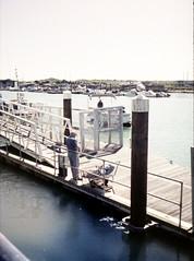 Here comes the ferry (Antony J  Shepherd) Tags: littlehampton olympuspenee2 penee2 ee2 halfframe