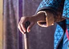 Stick (Hans van der Boom) Tags: holiday vacation southafrica lesotho zuidafrika semonkong maseru hand stick lso