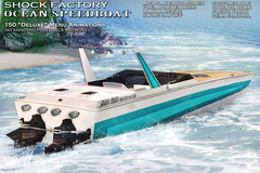 [ S H O C K ] OCEAN SpeedBoat *NEW RELEASE* ([ S H O C K ] Factory (Ilary Resident)) Tags: secondlife shock shockfactory boat vehicles speedboat motorboat fun animation acs