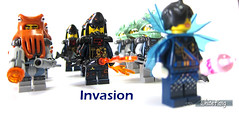 Invasion (WhiteFang (Eurobricks)) Tags: lego collectable minifigures series city town space castle medieval ancient god myth minifig distribution ninja history cmfs sports hobby medical animal pet occupation costume pirates maiden batman licensed dance disco service food hospital child children knights battle farm hero paris sparta historic ninjago movie sensei japan japanese cartoon 20 blockbuster cinema